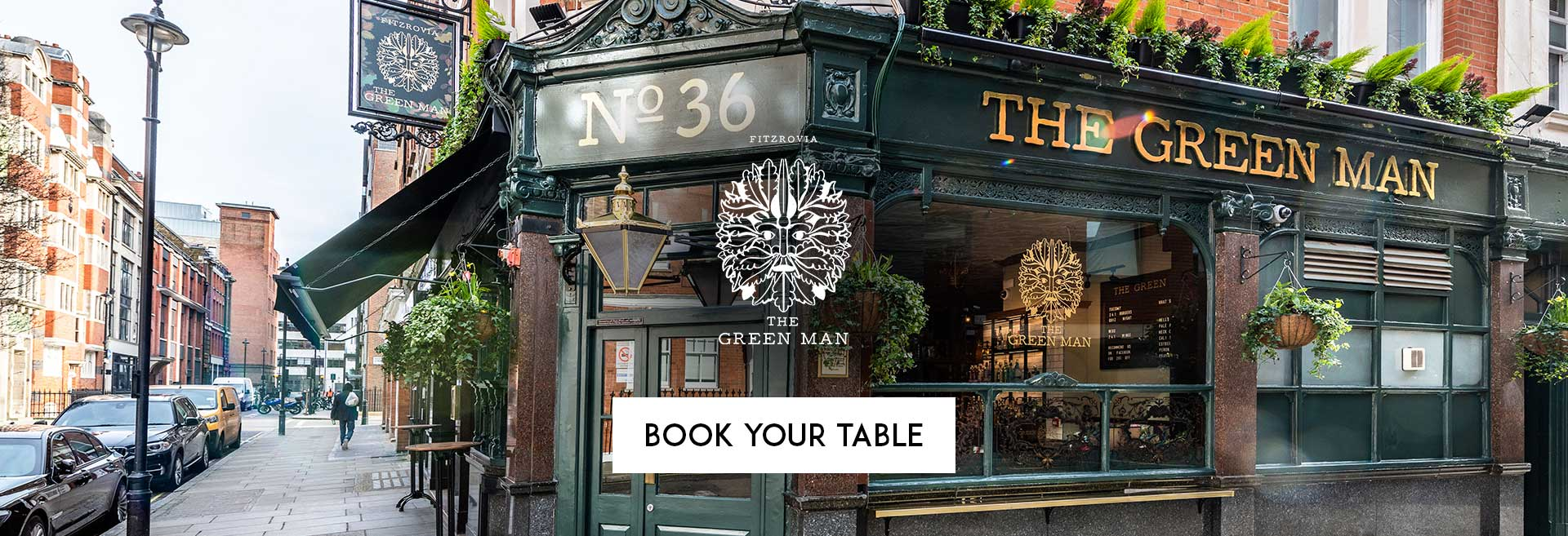 Book Your Table The Green Man